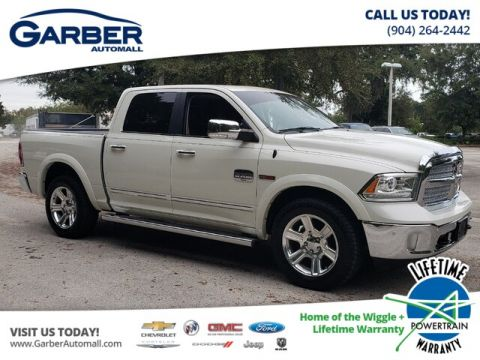 PRE-OWNED 2016 RAM 1500 LONGHORN WITH NAVIGATION & 4WD