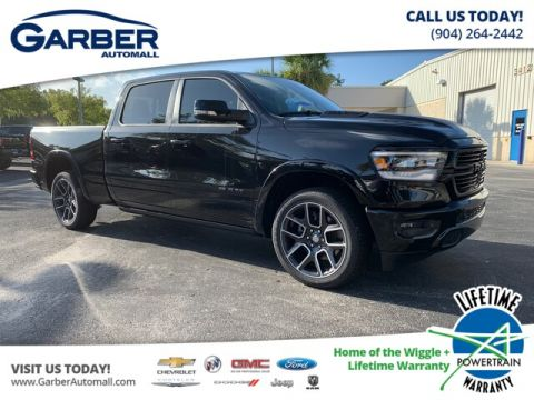 NEW 2019 RAM 1500 LARAMIE 4X2, BLACK APPEARENCE GROUP