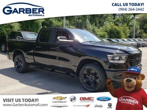 NEW 2019 RAM 1500 BIG HORN QUAD 4X4 HEMI BLACK APPEARANCE GROUP 4WD
