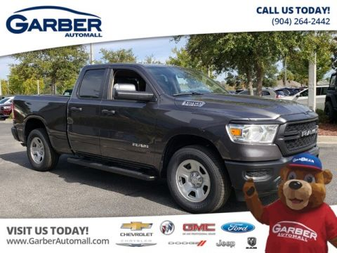 NEW 2019 RAM 1500 TRADESMAN QUAD 4X4 HEMI 4WD