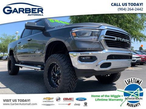 "New 2019 RAM 1500 Big Horn Crew 4x4 6 Lift 20"" wheels"""