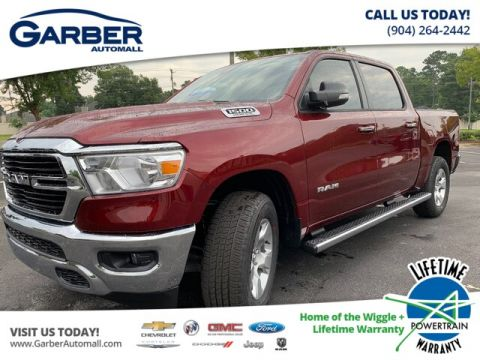 NEW 2019 RAM 1500 BIG HORN 4X4, DEMO W/EXTRA REBATES 4WD