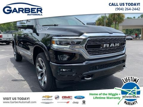 NEW 2019 RAM 1500 LIMITED 4X4, PANA SUNROOF, 3.92 REAR AXLE WITH NAVIGATION & 4WD