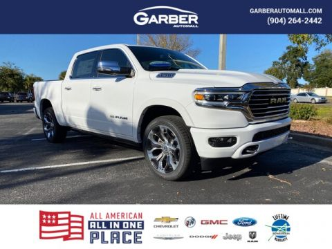 NEW 2020 RAM 1500 LONGHORN 4X4, 22 IN. WHEELS WITH NAVIGATION & 4WD