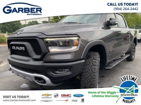 NEW 2019 RAM 1500 REBEL 4X4 NAV 4C, REMOTE START 4WD