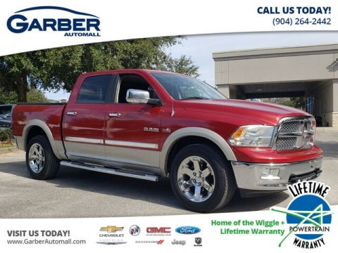 PRE-OWNED 2010 DODGE RAM 1500 LARAMIE 4WD