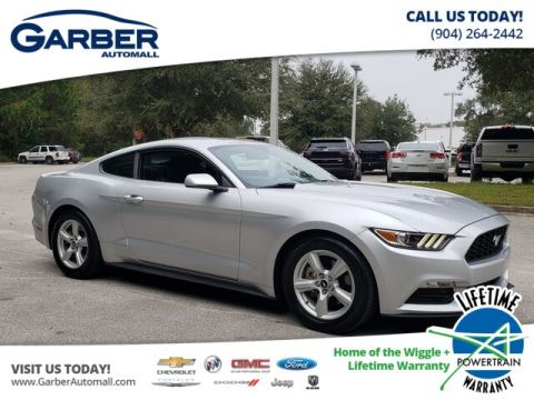PRE-OWNED 2017 FORD MUSTANG V6 RWD COUPE
