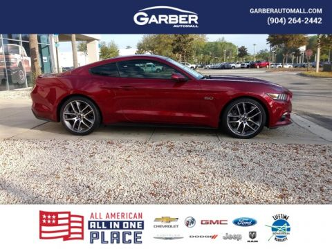 PRE-OWNED 2016 FORD MUSTANG GT PREMIUM RWD COUPE