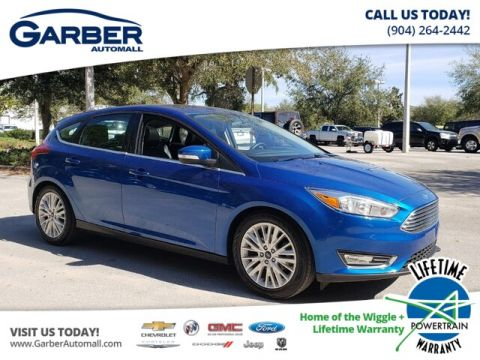 PRE-OWNED 2018 FORD FOCUS TITANIUM FWD HATCHBACK