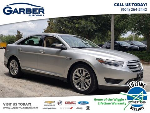 PRE-OWNED 2018 FORD TAURUS LIMITED FWD SEDAN