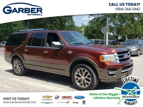PRE-OWNED 2017 FORD EXPEDITION EL KING RANCH 4WD
