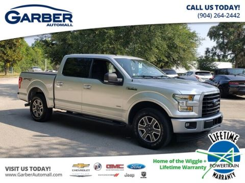 PRE-OWNED 2017 FORD F-150 XLT 4WD