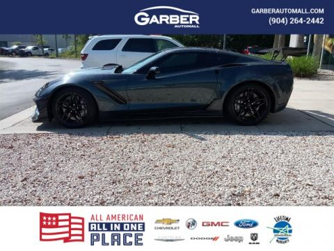 PRE-OWNED 2019 CHEVROLET CORVETTE ZR1 WITH NAVIGATION