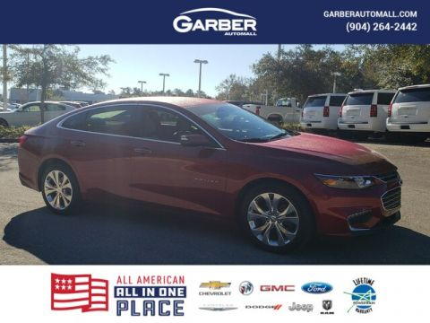 CERTIFIED PRE-OWNED 2017 CHEVROLET MALIBU PREMIER W/2LZ WITH NAVIGATION