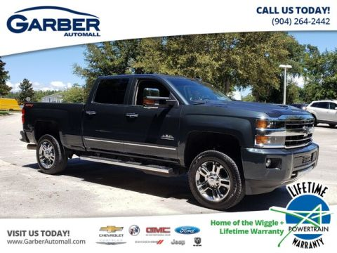 PRE-OWNED 2018 CHEVROLET SILVERADO 2500HD HIGH COUNTRY WITH NAVIGATION & 4WD