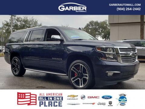 CERTIFIED PRE-OWNED 2019 CHEVROLET SUBURBAN PREMIER WITH NAVIGATION & 4WD