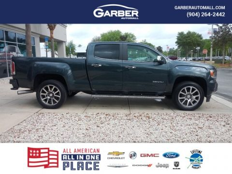 CERTIFIED PRE-OWNED 2019 GMC CANYON DENALI WITH NAVIGATION & 4WD