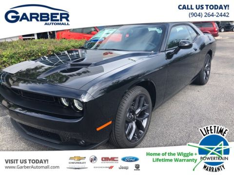 NEW 2019 DODGE CHALLENGER SXT, BLACK TOP PACKAGE, PREMIUM PACKAGE RWD COUPE