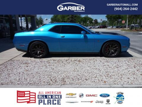 PRE-OWNED 2016 DODGE CHALLENGER SRT HELLCAT WITH NAVIGATION