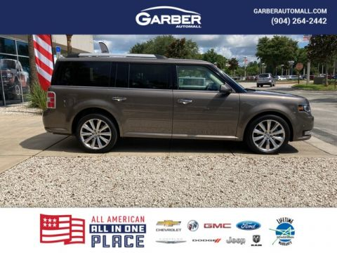 PRE-OWNED 2019 FORD FLEX LIMITED W/ECOBOOST WITH NAVIGATION & AWD