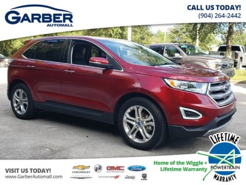 PRE-OWNED 2018 FORD EDGE TITANIUM FWD SUV