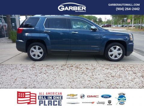 PRE-OWNED 2017 GMC TERRAIN SLT FWD SUV