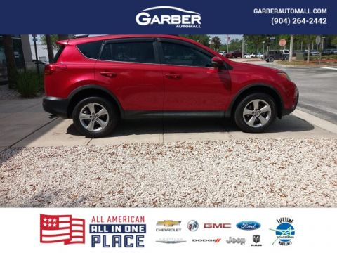 PRE-OWNED 2015 TOYOTA RAV4 XLE FWD SUV