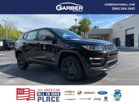 NEW 2020 JEEP COMPASS SPORT 4X4, MOPAR INT. PROTECTION 4WD