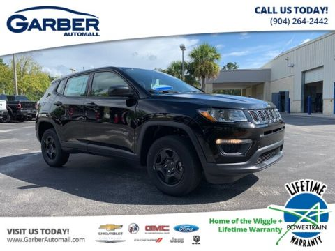 New 2020 Jeep Compass Sport 4x4, Mopar Int. Protection