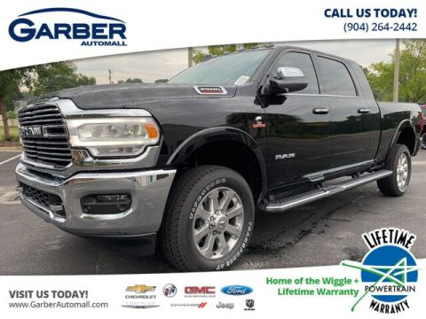 NEW 2019 RAM 2500 LARAMIE 4X4, LEATHER, NAVI, CUMMINS DIESEL 4WD