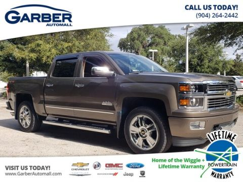 PRE-OWNED 2015 CHEVROLET SILVERADO 1500 HIGH COUNTRY WITH NAVIGATION & 4WD
