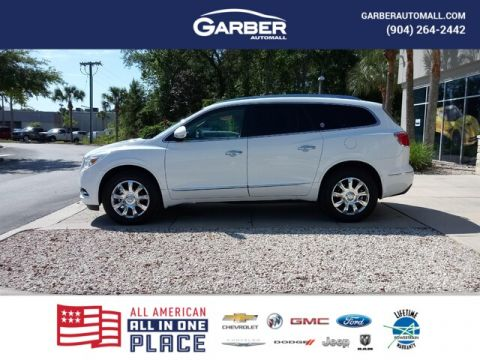PRE-OWNED 2017 BUICK ENCLAVE PREMIUM WITH NAVIGATION