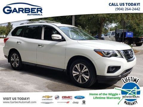 PRE-OWNED 2017 NISSAN PATHFINDER S FWD SUV