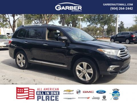 Pre-Owned 2012 Toyota Highlander Limited V6