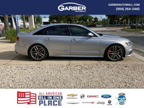 PRE-OWNED 2017 AUDI S6 4.0T PREMIUM PLUS WITH NAVIGATION & AWD
