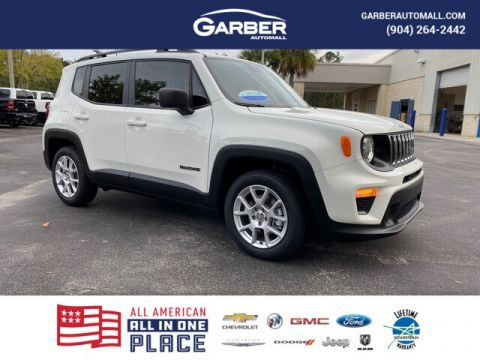 NEW 2020 JEEP RENEGADE SPORT 4X2, SPORT APPEARANCE GROUP FWD SUV