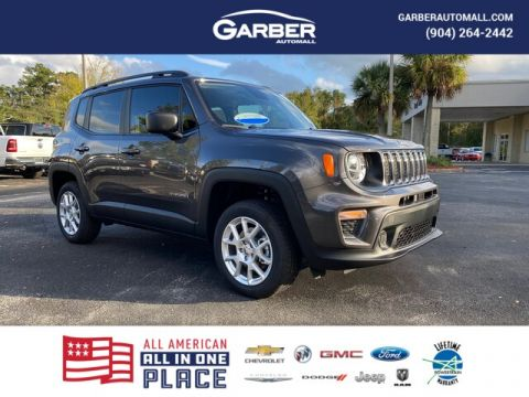 NEW 2020 JEEP RENEGADE SPORT 4X4, CURRENTLY IN LOANER SERVICE 4WD