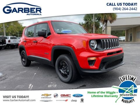 NEW 2020 JEEP RENEGADE SPORT 4X4, BEACH READY! 4WD