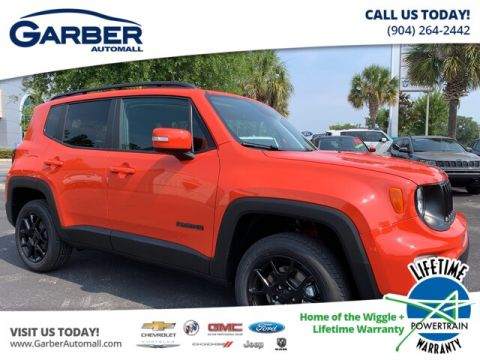 NEW 2019 JEEP RENEGADE LATITUDE 4X4 MY SKY POWER ROOF, TOW GROUP 4WD