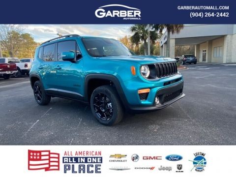 NEW 2020 JEEP RENEGADE LATITUDE 4X4, NAVI, LOADED 4WD
