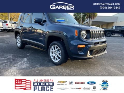 NEW 2020 JEEP RENEGADE LATITUDE 4X4, 8.4 IN. NAVIGATION 4WD