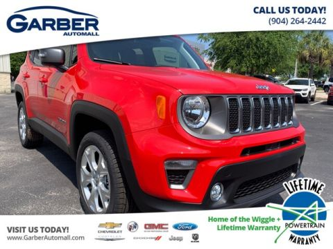 NEW 2019 JEEP RENEGADE LIMITED UCONNECT 8.4 NAVIGATION, LEATHER SEATS 4WD